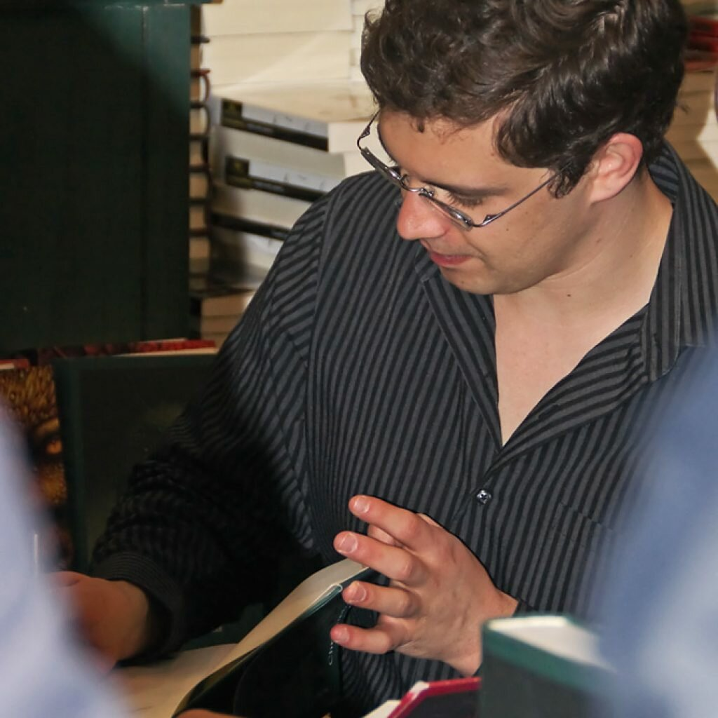 Christopher Paolini en Madrid 2012