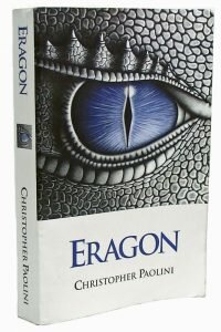 Primera Edición de Eragon, autopublicado por la familia Paolini