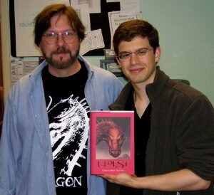 John Jude Palencar & Christopher Paolini