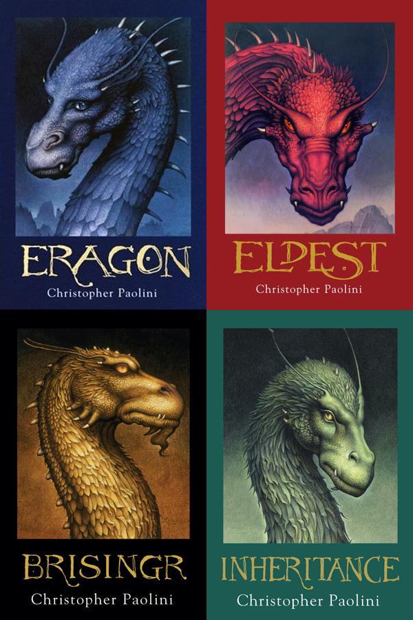 saga el legado | Eragon, Eldest, Brisingr, Legado y Christopher ...