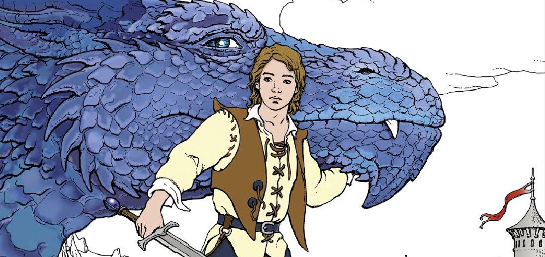 Eragon Coloring Book: Se ha presentado Eragon el libro para colorear