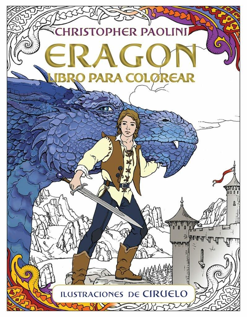 Eragon Libro para Colorear