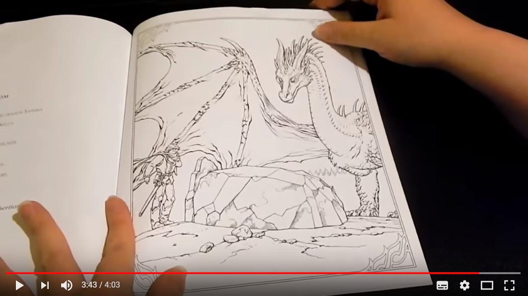 Vídeos de Eragon Libro para Colorear Christopher Paolini