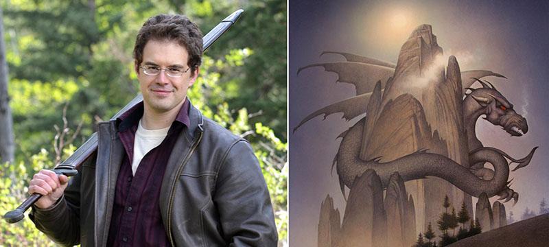 argumento el tenedor la hechicera y el dragon
